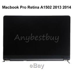 13 Fr Apple Macbook Pro Retina A1502 2013 2014 LCD Screen Display Assembly Part