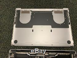 2018 GRAY MacBook Pro 13 4 TB3 TOUCHBAR CRACKED SCREEN LCD APPLECARE + AS IS BB