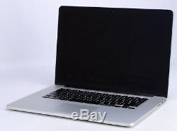 Apple 15 MacBook Pro Retina 2012 2.6GHz i7 CRACKED LCD AS-IS MC976LL/A -RK1742