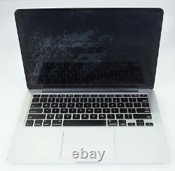 Apple A1398 MacBook Pro 15 2015 EMC2909 Chassis + Battery Only Bad LCD