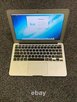 Apple MacBook Air 11 Laptop (2012) 1.7GHz i5 4gb 64GB SSD LCD Discolor