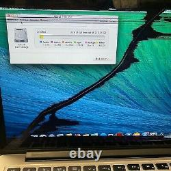 Apple MacBook Pro 13 2.4 GHz Core i5 8GB RAM 256GB 2013 CRACKED LCD SCREEN #H89