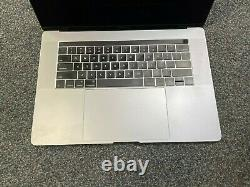 Apple MacBook Pro 15 (2016) Touch Bar i7 2.6GHz 16GB 256GB SSD BLACKED OUT LCD