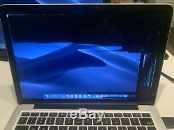Apple MacBook Pro A1502 13.3 Laptop CRACKED LCD ME864LL/A (October, 2013)