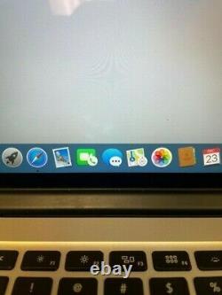 Apple MacBook Pro Retina 15 (2012) i7 2.3GHz 8GB 256GB SSD Light LCD hotspots