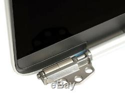 Apple MacBook Pro Retina 15 A1990 2018 EMC 3215 LCD Screen Assembly Silver