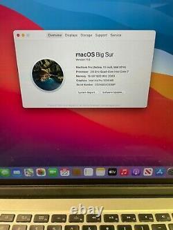 Apple MacBook Pro Retina 15 (Mid 2015) i7 2.8GHz 16GB 512GB LCD Spots