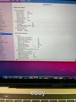Apple Macbook Pro 13 (2017) i5 3.1Ghz 16gb 512gb SSD LCD Discoloration