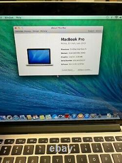 Apple Macbook Pro 13 Retina (2013) 2.4ghz 4GB 128GB LCD Line