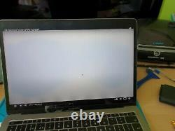 Genuine MacBook Pro 13 A1708 A1706 2016 2017 LCD Screen Assembly Gray
