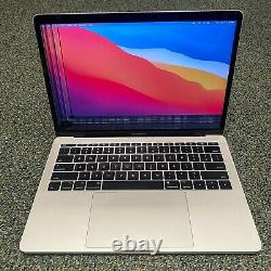LCD DAMAGED Apple MacBook Pro 13 Retina 2017 2.3GHz i5 8GB 256GB SSD #H237