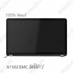 LED Ecran Complet LCD Assembly pour Macbook Pro Retina A1502 EMC 2835 début 2015