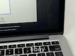 MacBook Pro 13 Retina Early 2015 3.1GHz i7 16GB 512GB SSD LCD Damage
