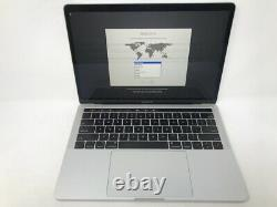 MacBook Pro 13 Touch Bar Silver 2019 2.8GHz i7 16GB 256GB LCD Damage READ