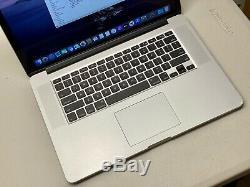 MacBook Pro 15 Mid 2015 Core i7 2.5GHz 16GB 512GB SSD Radeon R9 M370X NEW LCD