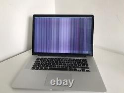 MacBook Pro 15 Mid 2015 Intel Core i7 2.7GHz 16GB Ram 251GB SSD (LCD Fault)