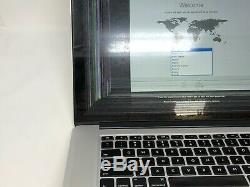 MacBook Pro 15 Retina Mid 2014 MGXA2LL/A 2.2GHz i7 16GB 256GB READ LCD Damage