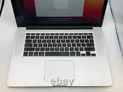 MacBook Pro 15 Retina Mid 2014 MGXC2LL/A 2.5GHz i7 16GB 512GB Damaged LCD