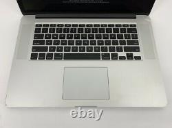 MacBook Pro 15 Retina Mid 2015 2.2GHz Intel Core i7 16GB 256GB SSD LCD Damage