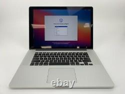 MacBook Pro 15 Retina Mid 2015 2.5GHz Intel Core i7 16GB 512GB SSD LCD Damage