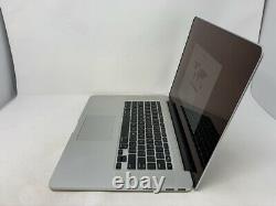 MacBook Pro 15 Retina Mid 2015 MJLT2LL/A 2.5GHz i7 16GB 512GB READ LCD Issue