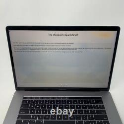 MacBook Pro 15 Touch Bar Gray 2017 2.8GHz i7 16GB 256GB Good LCD Discoloration