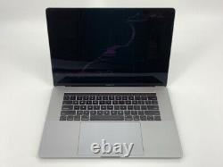 MacBook Pro 15 Touch Bar Gray Late 2016 2.6GHz i7 16GB 256GB SSD Broken LCD