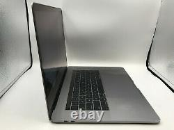 MacBook Pro 15 Touch Bar Space Gray 2016 2.9GHz i7 16GB 512GB Damaged LCD