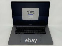 MacBook Pro 15 Touch Bar Space Gray 2018 2.6GHz i7 16GB 512GB SSD LCD Spot