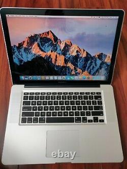 MacBook Pro Mid 2012 i7 2.3GHz 16GB RAM 500GB SSD 1440x900 LCD Sierra Win10 Pro