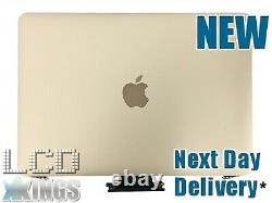 Macbook Pro A1534 Retina Display 12 LCD Assembly Early 2015 Gold Refurb Lid